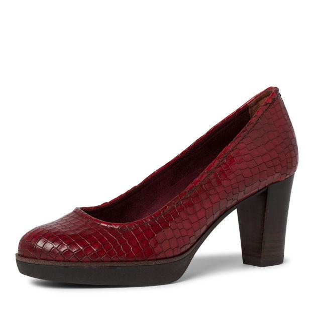 Slika Ženske cipele Tamaris 22432 scarlet croco
