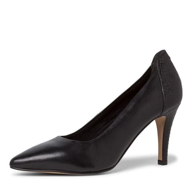 Slika Ženske cipele Tamaris 22445 black/struct.