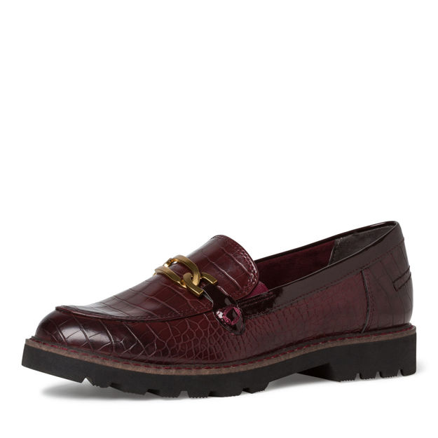 Slika Ženske cipele Tamaris 24601 merlot croco