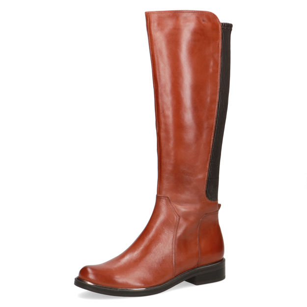 Slika Ženske čizme Caprice 25503 cognac nappa x