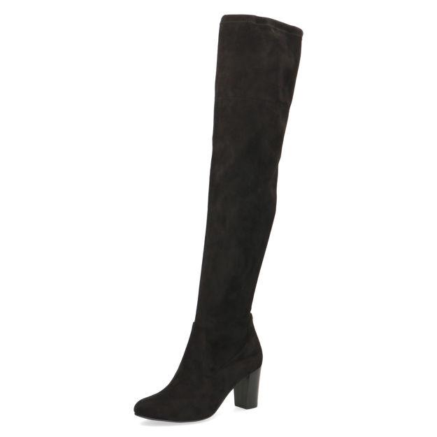 Slika Ženske čizme 25508 black stretch