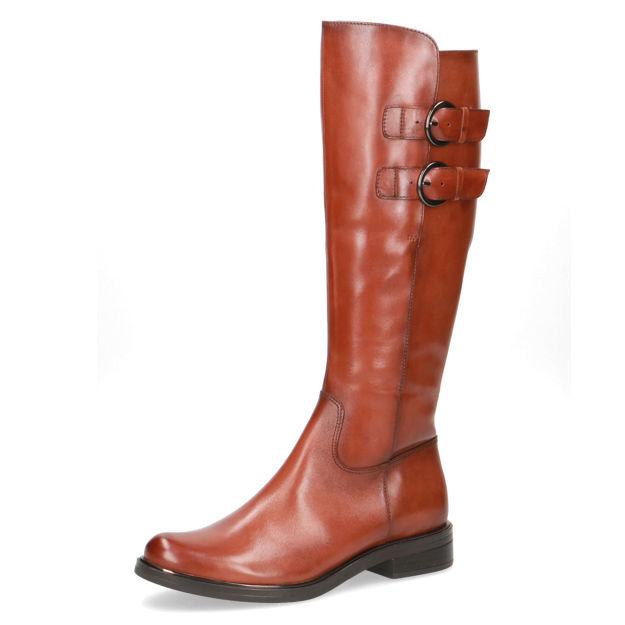 Slika Ženske čizme Caprice 25530 cognac nappa
