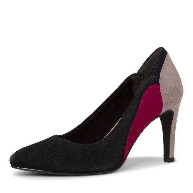 Slika Ženske cipele Tamaris 22405 black comb