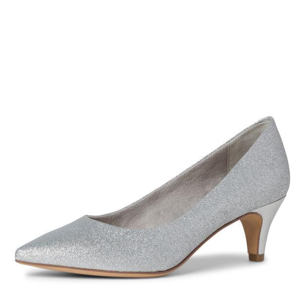Slika Ženske cipele Tamaris 22415 silver glam