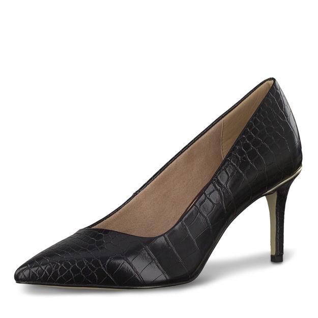 Slika Ženske cipele Tamaris 22421 black croco
