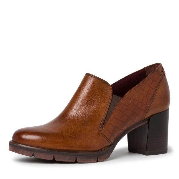 Slika Ženske cipele 24406 cognac