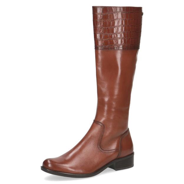 Slika Ženske čizme Caprice 25535 cognac comb x