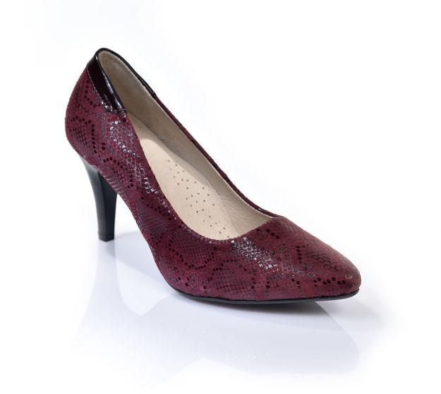 Slika Ženske cipele Tref 1958 bordo