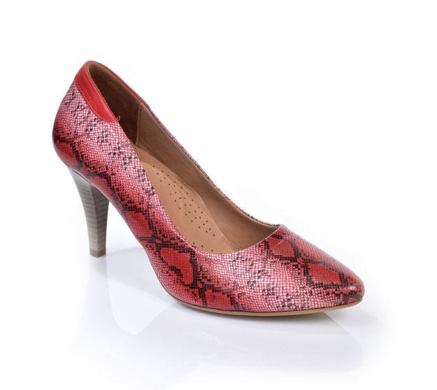 Slika Ženske cipele 1958 red snake