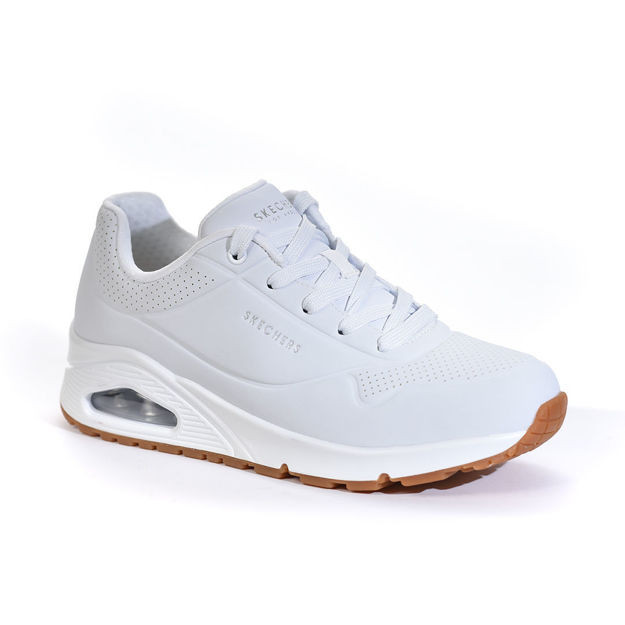 Slika Ženske patike SKECHERS UNO STAND ON AIR White