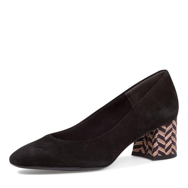 Slika Ženske cipele Tamaris 22424 black/structure