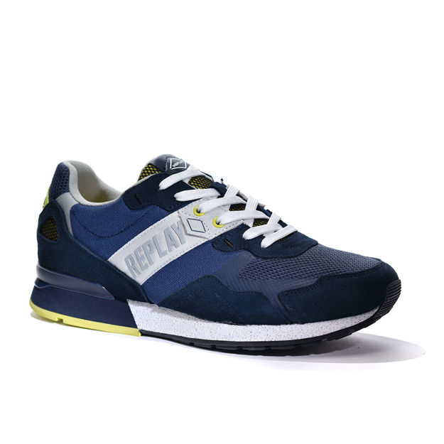 Slika Muške patike Replay SPORT GAME Navy/Lime
