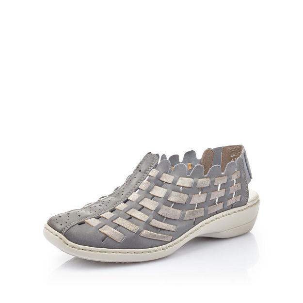 Slika Ženske cipele Rieker 413V8 azur/grey