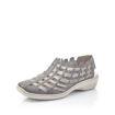 Slika Ženske sandale Rieker 413V8 azur/grey