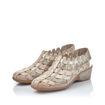 Slika Ženske sandale Rieker 47156 light rose/silver
