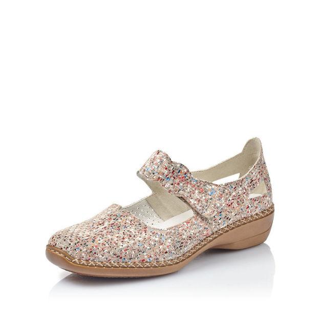 Slika Ženske cipele  Rieker 413J2 beige