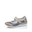 Slika Ženske cipele Rieker L32B5 steel/jeans