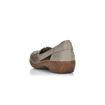 Slika Ženske cipele Rieker 41356 seal/altgold