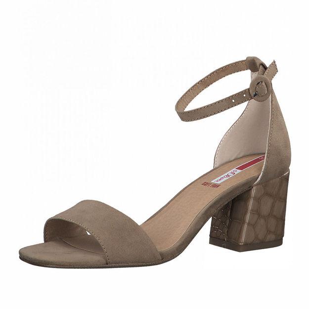 Slika Ženske sandale S Oliver 28300 taupe