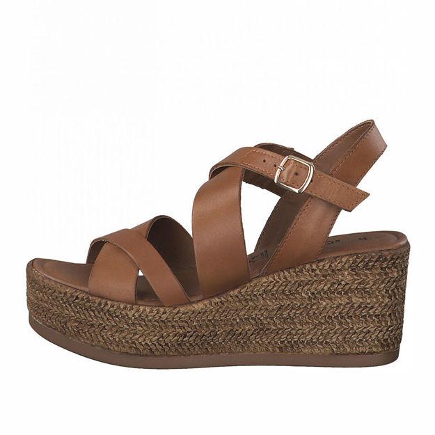 Slika Ženske sandale S Oliver 28314 cuoio