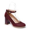 Slika Ženske cipele Tref 2411 bordo