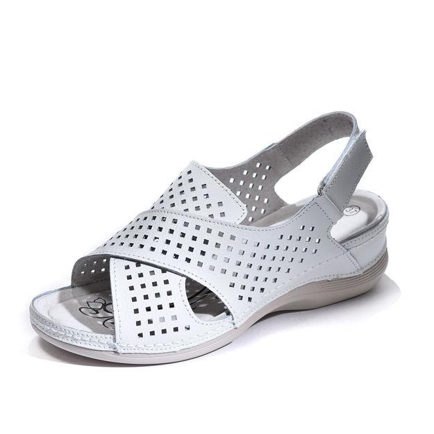 Slika Ženske sandale Cherytime 1716 white