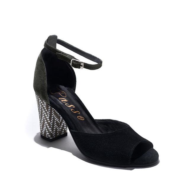 Slika Ženske sandale Passo 19-142 crne