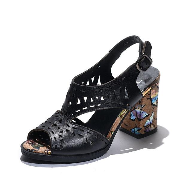 Slika Ženske sandale Tref 3375 crne