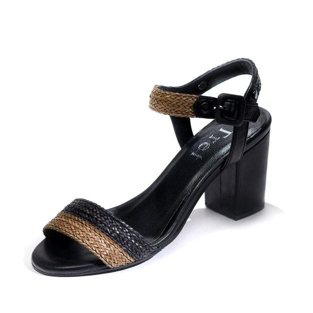 Slika Ženske sandale Tref 3053 crne