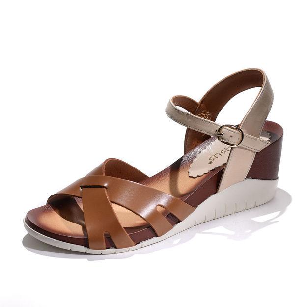 Slika Ženske sandale Tref 6045 antik