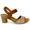 Slika Ženske sandale Caprice 28318 cognac comb