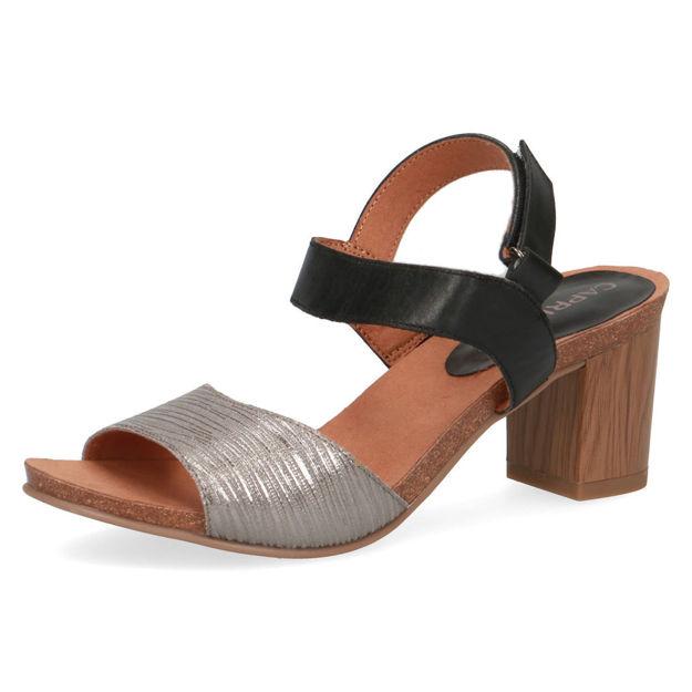 Slika Ženske sandale Caprice 28318 black comb