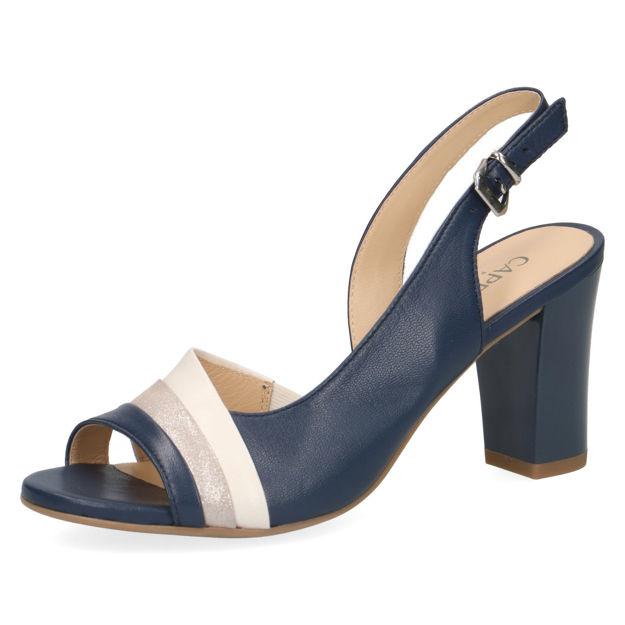 Slika Ženske sandale Caprice 28314 navy