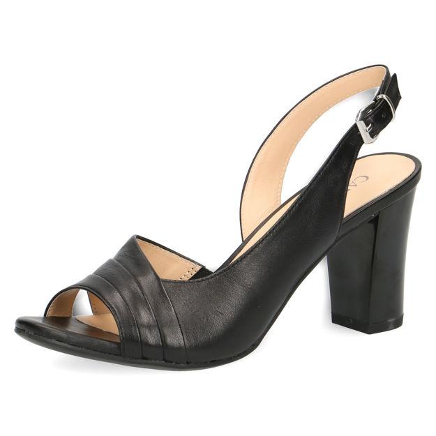 Slika Ženske sandale Caprice 28314 black nappa