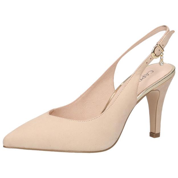 Slika Ženske sandale Caprice 29602 beige nubuc