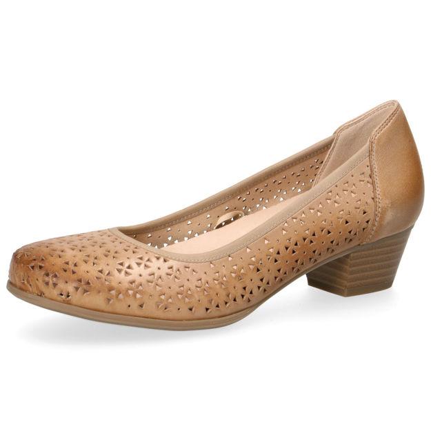 Slika Ženske cipele Caprice 22500 almond wax. nappa