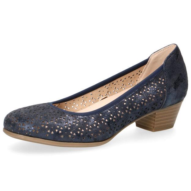 Slika Ženske cipele Caprice 22500 ocean shin. suede