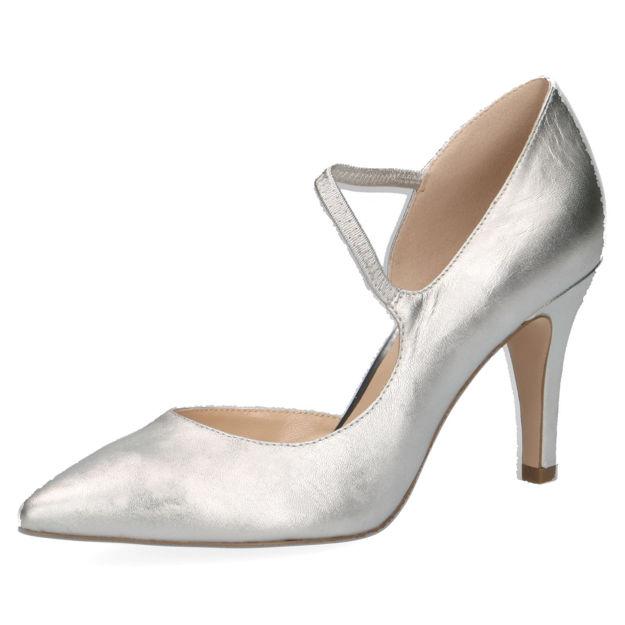 Slika Ženske cipele Caprice 24402 silver satin