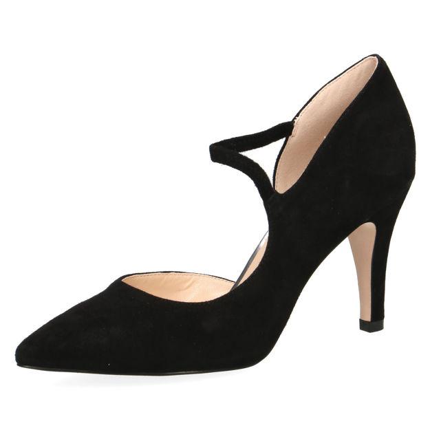 Slika Ženske cipele Caprice 24402 black suede