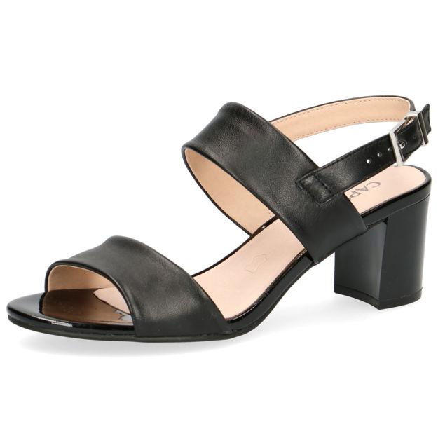 Slika Ženske sandale Caprice 28302 black nappa