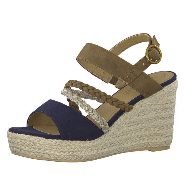 Slika Ženske sandale S Oliver 28314 blue comb