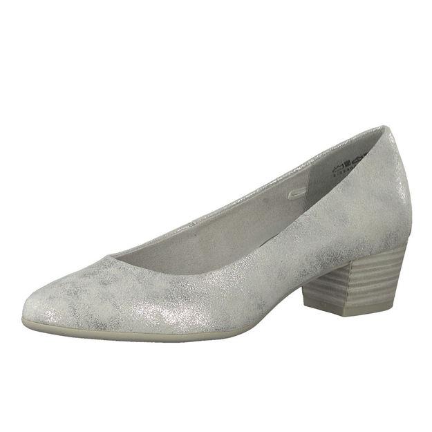 Slika Ženske cipele Marco Tozzi 22305 srebrne