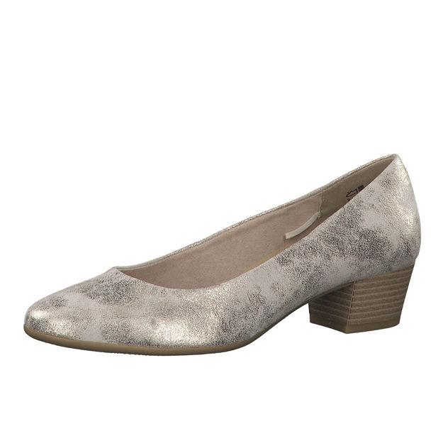 Slika Ženske cipele Marco Tozzi 22305 zlatne
