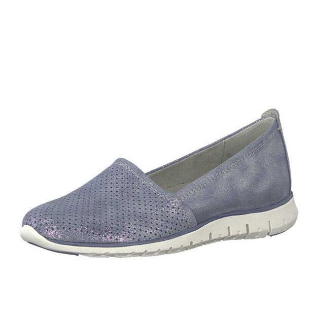 Slika Ženske cipele Marco Tozzi 24709 plave
