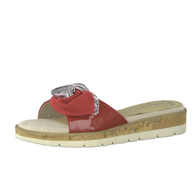 Slika Ženske papuče Marco Tozzi 27120 crvene