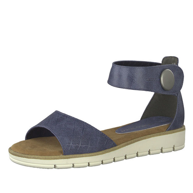 Slika Ženske sandale Marco Tozzi 28118 plave