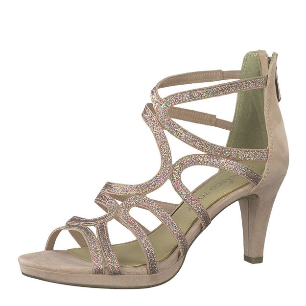 Slika Ženske sandale Marco Tozzi 28373 rose comb