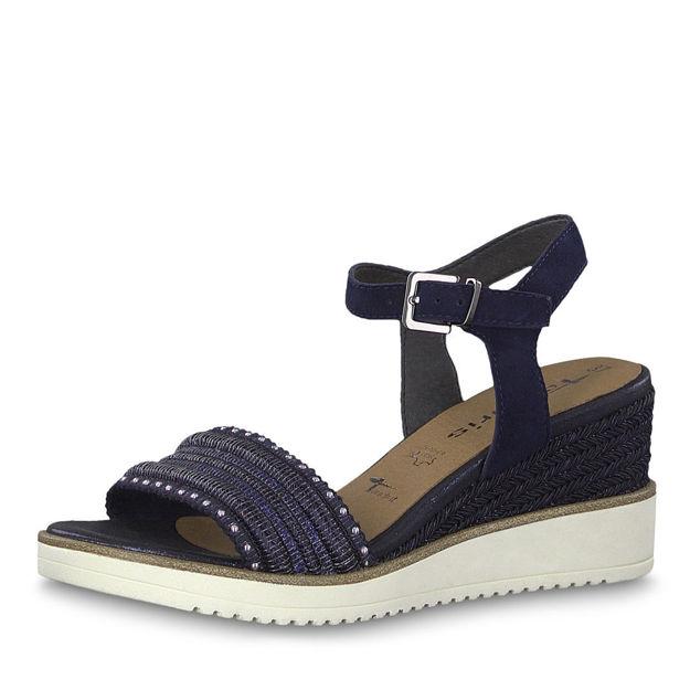 Slika Ženske sandale Tamaris 28243 navy