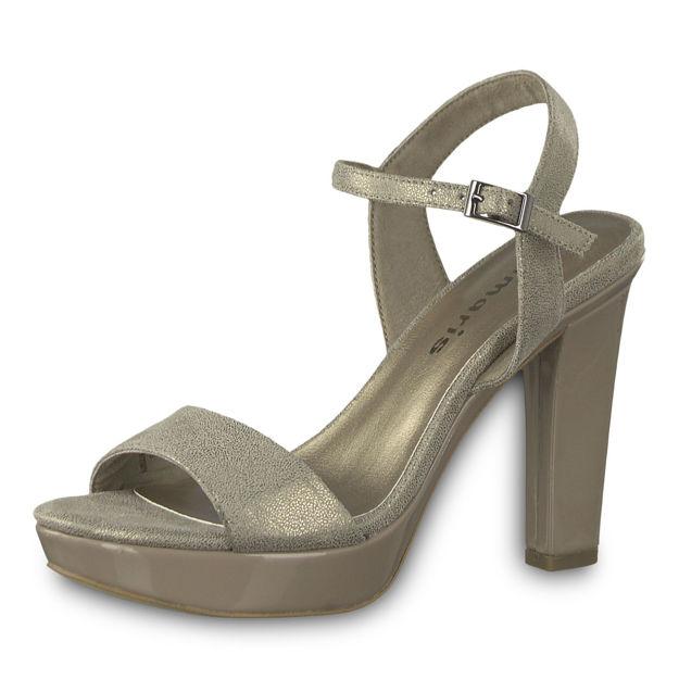 Slika Ženske sandale Tamaris 28398 platinum