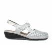 Slika Ženske sandale Rieker 47775 srebrne